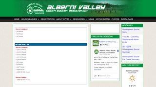 Alberni Valley Youth Soccer