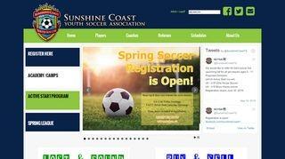 Sunshine Coast Youth Soccer Association