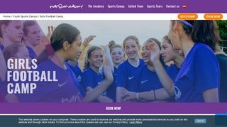 FC Barcelona Girls Camp