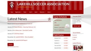 Lakehill Soccer Association