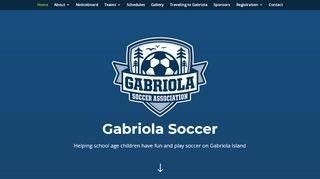 Gabriola Soccer Association