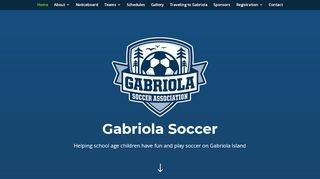 Gabriola Soccer Association