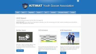Kitimat Youth Soccer Association