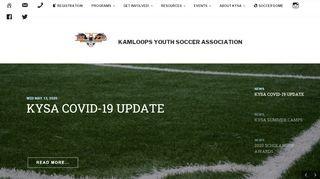 Kamloops Youth Soccer Association