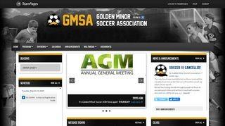 Golden Minor Soccer