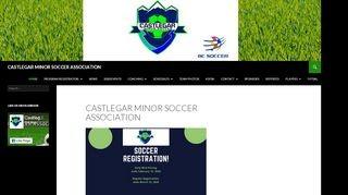 Castlegar Minor Soccer Association