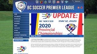 BC Soccer Premier League
