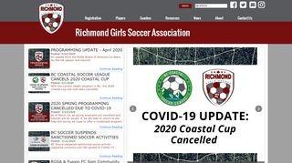 Richmond Girls Soccer Association